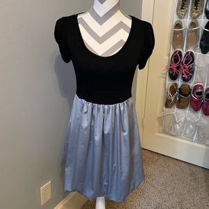 One Clothing Black & Silver Juniors Dress